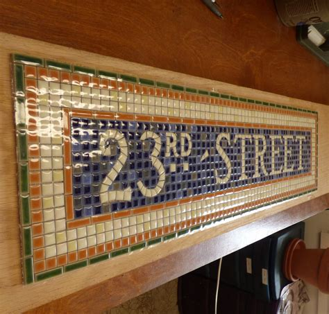 Mosaic Tile Installation Nyc Subway Mosaic Tile Install For Bathroom Kitchen