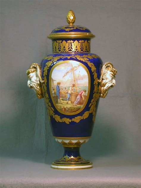 Sevres Vase file s 232 vres porcelain manufactory one of a pair of vases