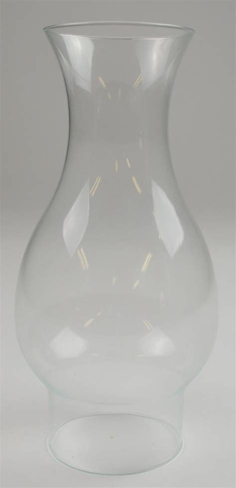 Hurricane L Glass Chimney by Vintage Clear Glass Smooth Top Hurricane L Chimney 8