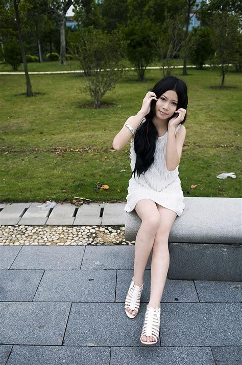 girl pretty  stock photo  beautiful chinese girl