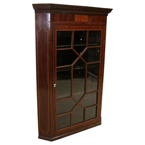 Cabinet Corner Ivory Mahogany Tp002 george iii inlaid mahogany corner cupboard georgian antiques