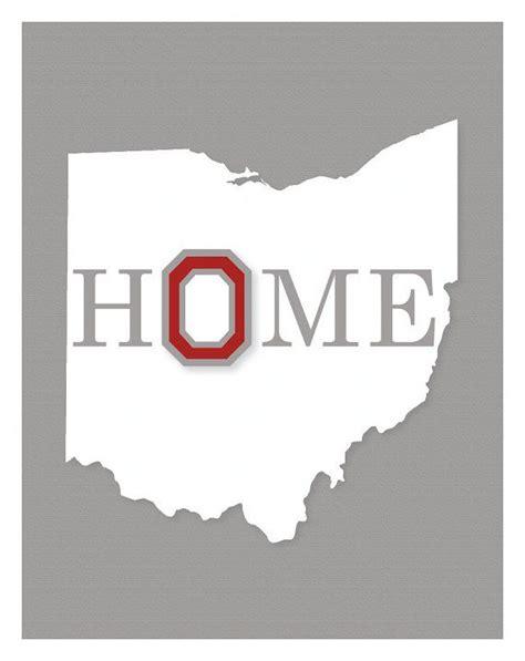 Ohio State Buckeyes Home Decor by Ohio State University Wall Art