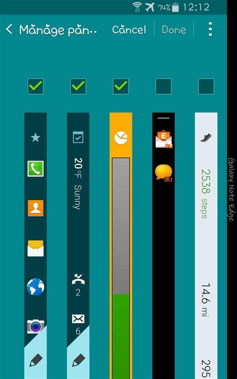 themes galaxy note edge samsung galaxy note edge first impressions