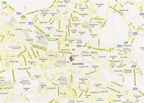 gaziantep map gaziantep map