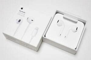 genuine apple iphone 7 8 x xs xr headset earpods a1748 lightning cable connector 190198001733 ebay