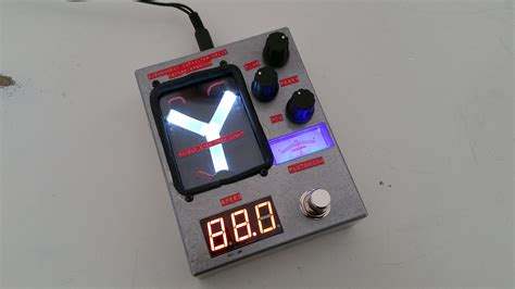 the flux capacitor delay pedal 4114 custom guitar effects