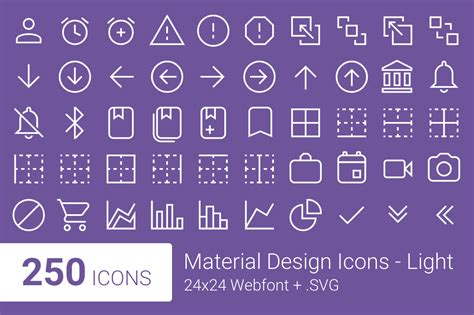 material design font download material design icons light symbol fonts on creative