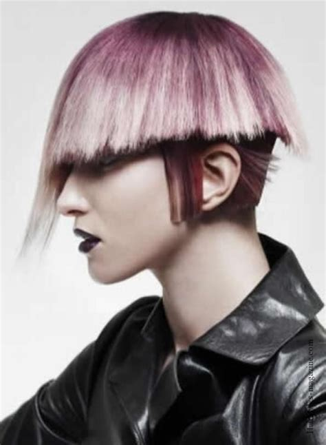 photos of emo haircut fo women with large noises 43 best pink hair images on pinterest colourful hair