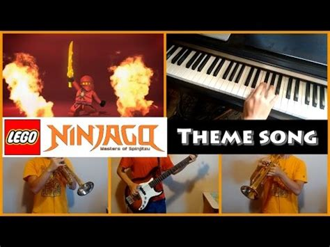 theme song z nation lego ninjago theme song piano trumpet and bass cover