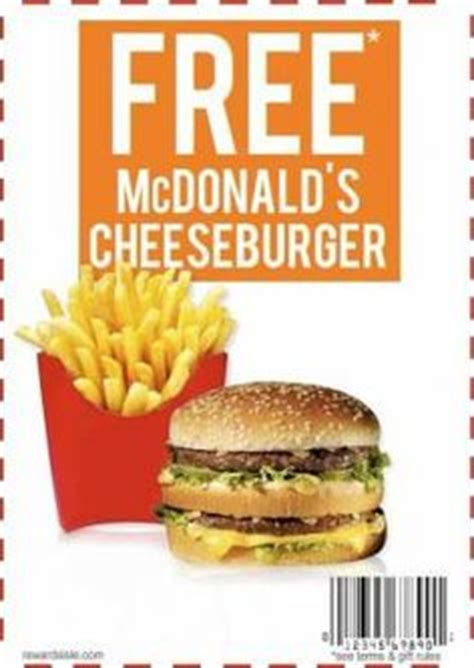 printable junk food coupons 1000 images about mcdonalds coupons on pinterest