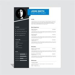 Free Curriculum Vitae Templates by Corporate Curriculum Vitae Template Vector Free