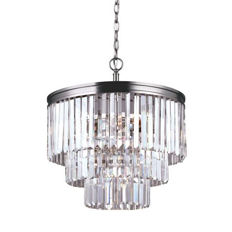House Of Hton Krenwik 4 Light Crystal Chandelier For Chandeliers