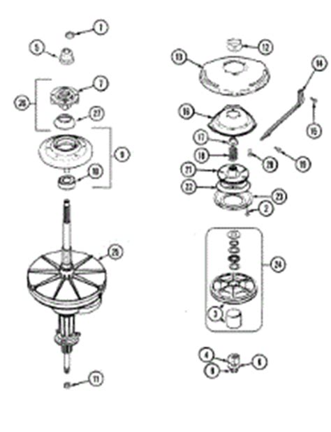 maytag atlantis washer parts diagram parts for maytag mav6451aww washer appliancepartspros