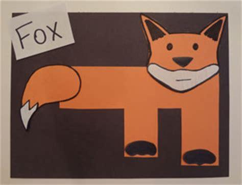 letter f craft fox