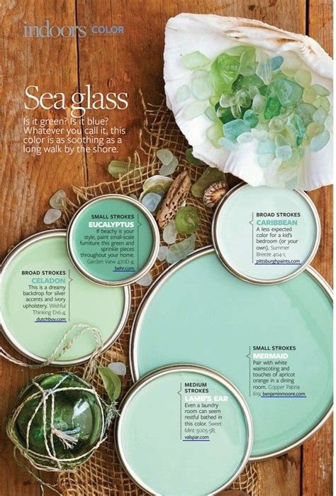 better homes and gardens sea glass paint color combinations i