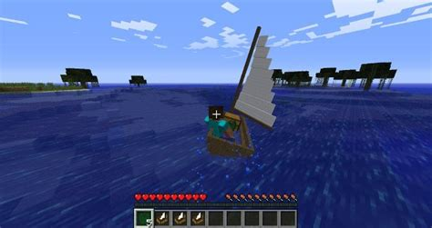 Small Boat No 2 minecraft mods small boats mod 1 6 4 1 6 2 1 5 2