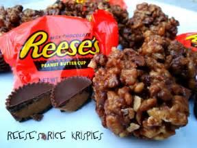 Reese s peanut butter cup rice krispies treats six sisters stuff