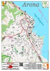 ufficio turistico arona mappa turistica di arona aronanelweb it