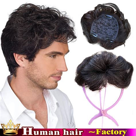 best mens hair pieces chicago 100 natural humanhair stock curl top men toupee remy hair