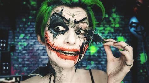 halloween makeup tutorials 2015 batman vs joker youtube joker vs batman 183 maquillaje joker makeup fx 183 arkham