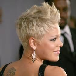 mistress cuts hair short blonde hair pink love this cut on pink things