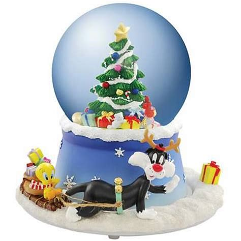 looney tunes sylvester tweety holiday musical water