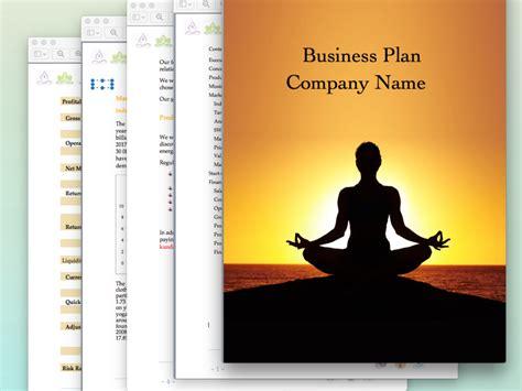Yoga Studio Business Plan Sle Pages Black Box Business Plans Studio Business Plan Template