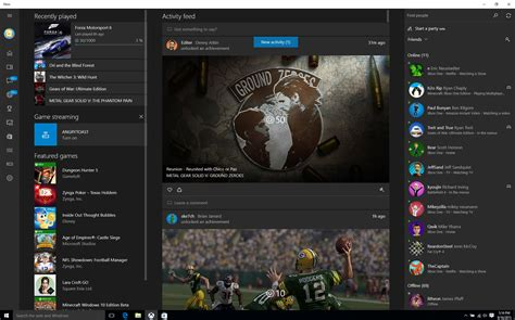 install windows 10 xbox app xbox app on windows 10 new updates available today and