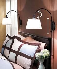 mount reading l to the bed for modern bedroom decor10 adjustable wall l ebay