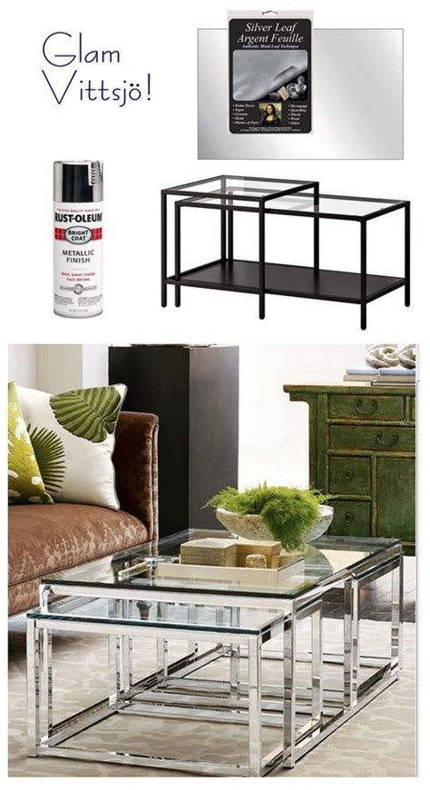 ikea coffee table hack versatile vittsjo more ikea hack ideas centsational girl