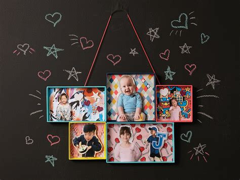 how to make a collage picture frame how to make a picture frame collage today s parent