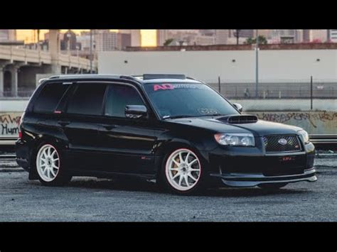 subaru forester modified modified subaru forester xt one take youtube