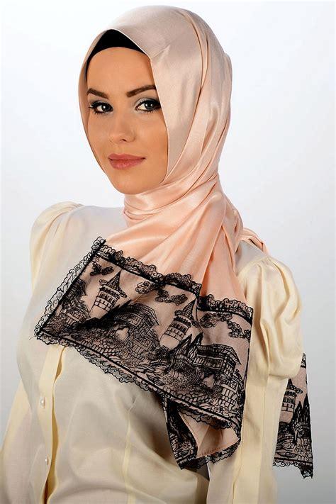 daily fashion life hot arab girls scarf styles arabic scarf 2013 2014 she9 change the