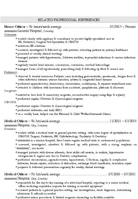 Residency Program Resume Mystatementofpurpose Best Resume Cv And Cover Letter Sles That Get Results