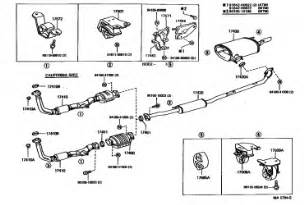 Toyota Rav4 Exhaust System Diagram 2000 Toyota Avalon Exhaust System Diagram Pictures To Pin