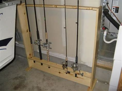 How To Build A Fishing Pole Rack by Fishing Rod Rack Diy With Pictures And Steps Www