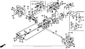Honda Snowblower Parts Honda Hs55 Wa Snow Blower Jpn Vin Hs55 1000001 Parts