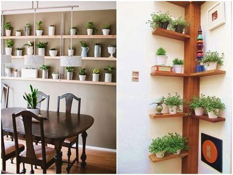 arredare con le mensole 15 graziose idee per arredare con le piante mondodesign it