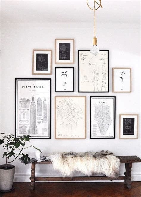 your guide to creating the gallery wall