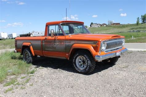 jeep honcho levi edition 1978 jeep j10 honcho levi s edition 4x4 original paint