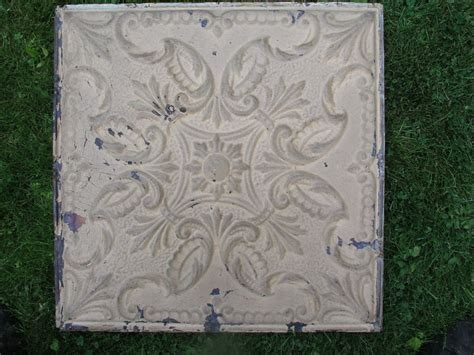 300 sq ft of pressed tin ceiling tile with trim