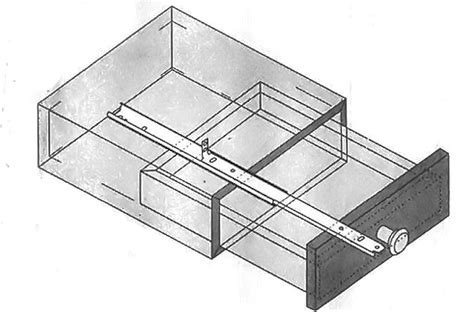 Center Mount Drawer Slide Installation by 22 Quot Center Mount Drawer Slide Complete Consumer Pack