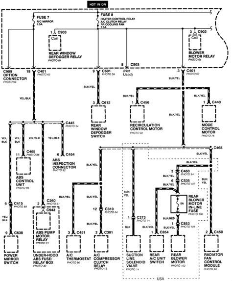 2005 honda wiring diagrams wiring diagram with description