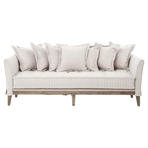 coastal style sofas dedon french country coastal style light sand sofa kathy
