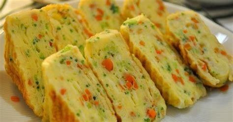 teks prosedur membuat omelet gulung cara membuat tamagoyaki telur dadar gulung khas jepang