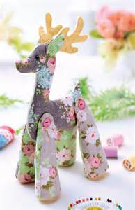 free craft projects tilda reindeer free craft project stitching crafts