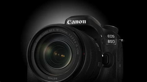 Wallpaper Canon EOS 80D, lens EF S 18?135mm f/3.5?5.6