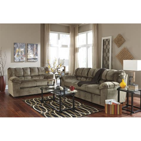 ashley furniture couch and loveseat ashley julson sofa loveseat