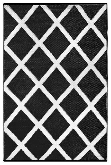Black And White Indoor Outdoor Rug Indoor Outdoor Rug Black And White Contemporary Outdoor Rugs By Green Decore
