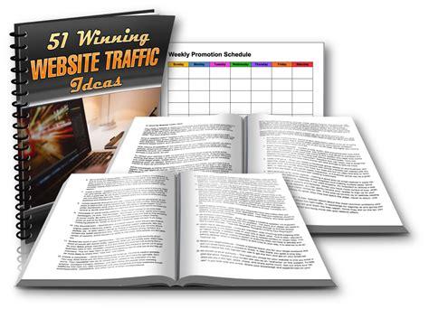 plr package   winning website traffic ideas